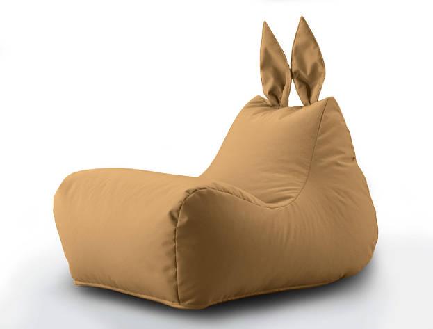 Кресло мешок Зайка цвет Бежевый, фото 2