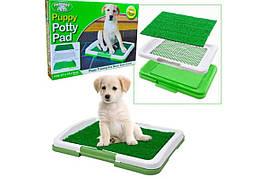 Туалет для собак Puppy Potty Pad  (W-25)