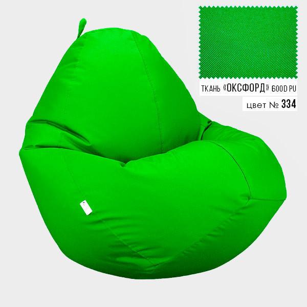 Кресло мешок Овал Оксфорд Стронг 85*105 см Цвет Салатовый