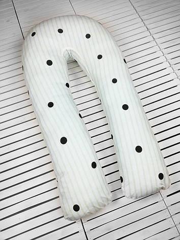 Подушка для беременных, подушка обнимашка Подкова, фото 2