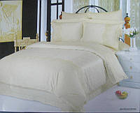 Комплект постільної білизни Le Vele Beatrice Cream жакардовий 220-200 см