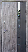 Двери уличные со стеклопакетом, STRAJ Proof, модель РИО P SL, комплектация Proof Standard Hook, MUL-T-LOCK