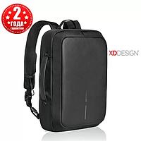 """Рюкзак для ноутбука XD Design Bobby Bizz Anti-Theft 15.6"""" Black против кражи (рюкзак и портфель), черный"""