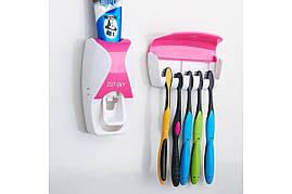 Диспенсер для зубной пасты и щеток автоматический (w-506)