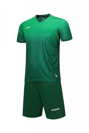 Футбольная форма Europaw 024 зеленая, фото 2