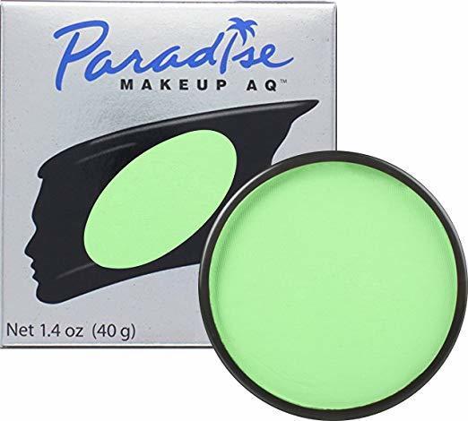MEHRON Професійний аквагрим Paradise, Аквагрим Lt. Green (Світло-зелений), 40 г