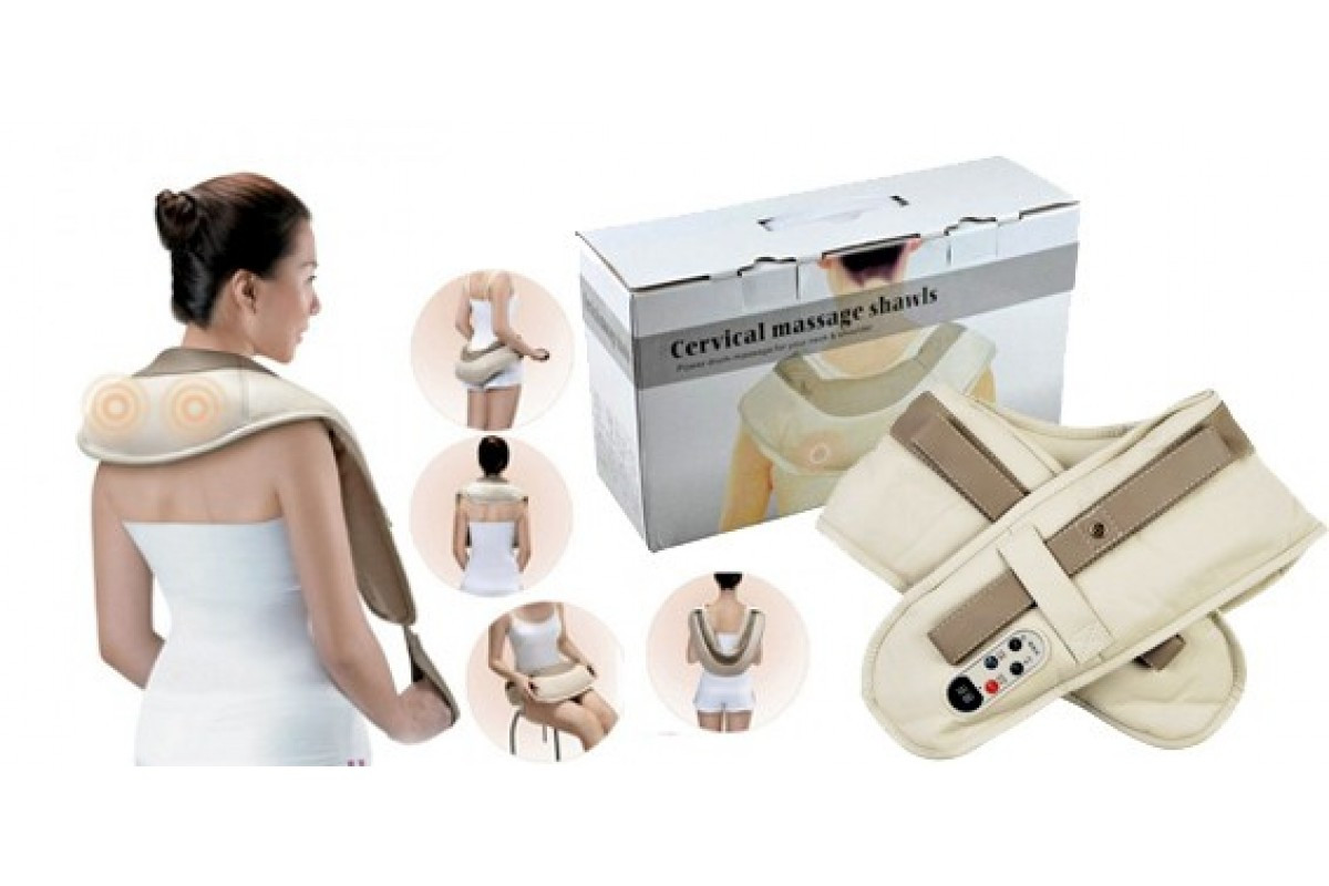 Массажер ударный Cervical Massage Shawls (w-510)