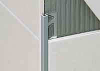 Профиль квадратн.алюминий Хром 110мм - 2,7м, шт.