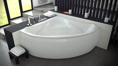 Ванна BESCO EWA 134х134 з панелькою та ніжками