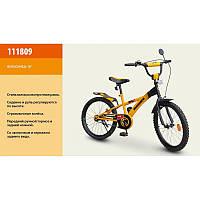 """Велосипед """"Hummer"""" оранжевый с чёрным   18"""""""