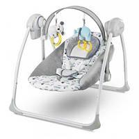 Кресло-качалка,шезлонг Kinderkraft Flo Mint цвет серый (9049)
