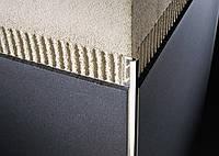 Профиль алюминий закругленный сатин 10 мм - 2,7м, шт
