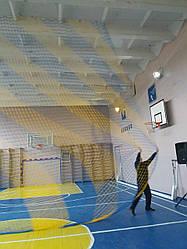 Сетка заградительная - Ячейка 100х100 мм Ø шнура 3,5 мм, м²