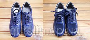 Реставрация обуви из гладкой кожи