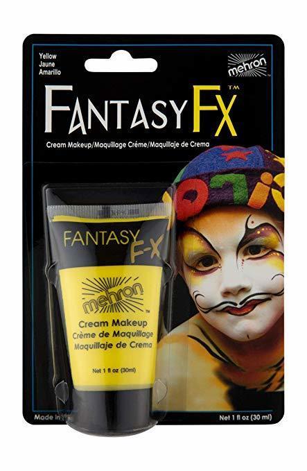 MEHRON Грим на водной основе Fantasy FX,  Yellow (Желтый), 30 мл