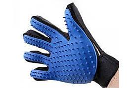 Перчатка для вычёсывания шерсти True Touch (w-11,13) (200)