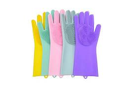 Рукавиця для миття посуду Gloves for washing dishes (W-49) (100)