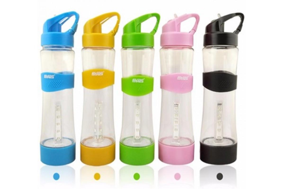 Спортивная бутылка с LED фонарем LT01