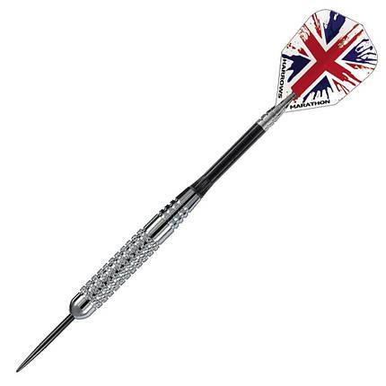 Дротики для игры в дартс из никеля Silver Arrow Англия Harrows, фото 2