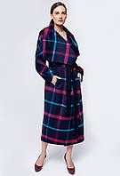 Пальто женское демисезонное размер 44 - 58 цвет сини, зеленый
