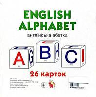 "Карточки ""Английский алфавит"", 26 карточек  sco"