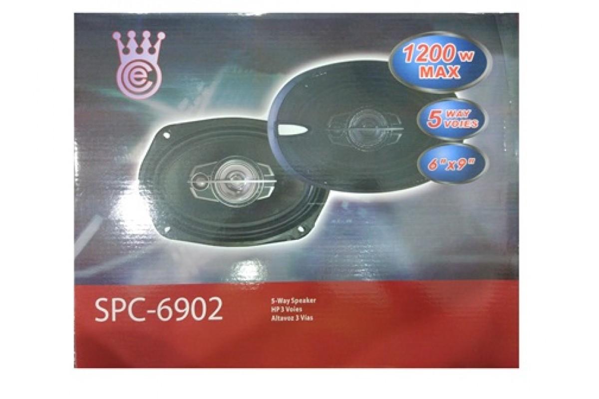 Авто акустика SP-6902 (6\'\'*9\'\', 5-ти полос., 1200W)
