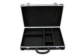 Ящикдля инструмента и мелочей с перегородками 395*240*90 мм (синий) Htools 79K222-s