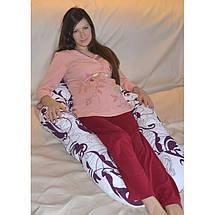 Анатомічна подушка для вагітних Комфорт (різні кольори), фото 3