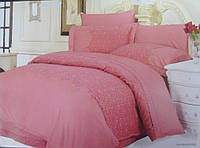 Комплект постільної білизни Le Vele Beatrice Rose жакардовий 220-200 см