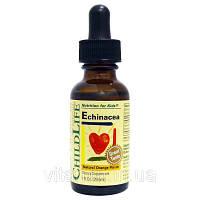 Эхинацея с апельсиновым вкусом (Echinacea), ChildLife, 29.6 мл.