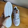 Кроссовки мужские в стиле Adidas Superstar (белые, 41-44, dr-066), фото 4