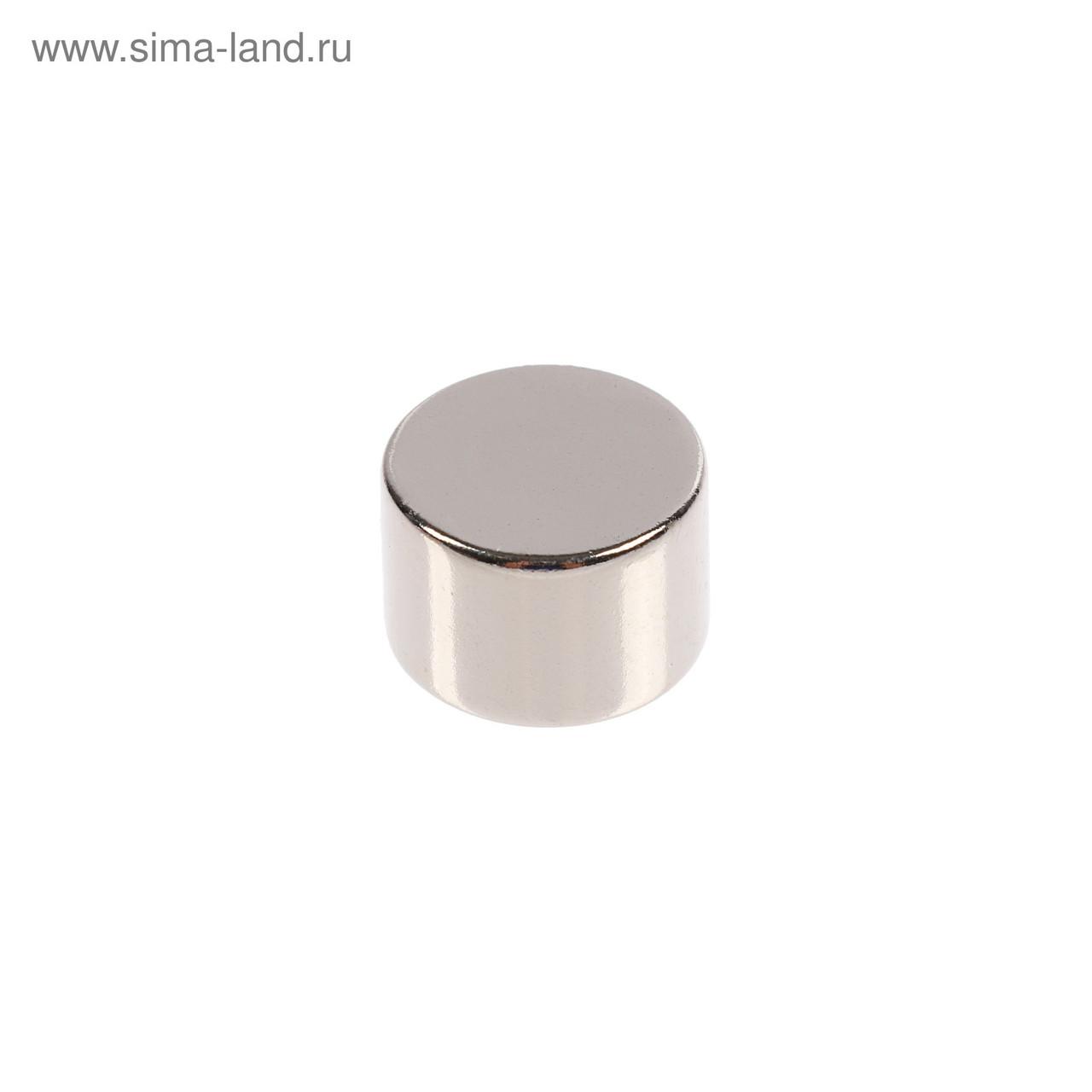 Неодимовый магнит 12 * 10 мм