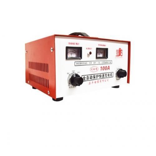 Автомобильное зарядное устройство для аккумулятора (6V/12V/24V, 100Ah ), 9 уровней регулировки