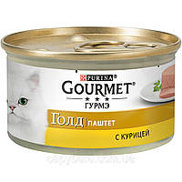 Gourmet Gold (Гурмет Голд) паштет с курицей 85гр