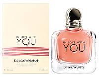 Оригинал Giorgio Armani In Love With You 100ml Женские Духи Армани Ин Лав Виз Ю / Влюблена В Тебя