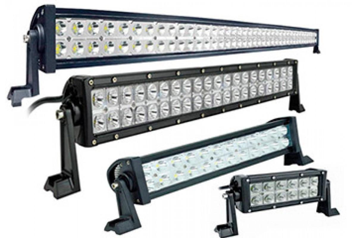 Автофара балка LED на крышу (42 LED) 5D-126W-SPOT
