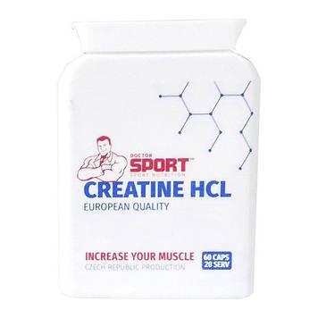 Креатин Гидрохлорид Creatine HCL (60 caps) Doctor SPORT