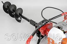 ✔️ Мотобур бензиновый, LEX GD520 | 2000W, 3000 об / мин, фото 2