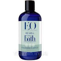 Пена для ванн (ванны), Эвкалипт и Арника, Bubble Bath, EO Products, (355 мл)