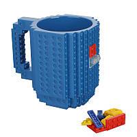 Чашка конструктор (синяя), фото 1