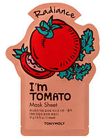 Корейская  тканевая маска для лица Tony Moly 🍅 I'm real Tomato