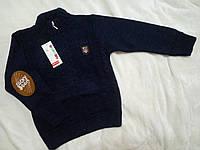 Теплый свитер на молнии для мальчика 5-6 лет