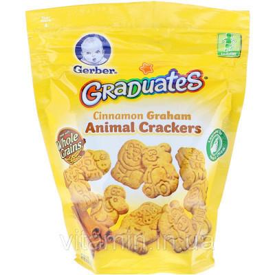 Gerber, Graduates, Cinnamon Graham, Animal Crackers, Toddler, 6 oz (170 g)