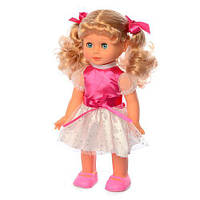 Интерактивная кукла Даринка 3883-2: ходит, говорит, поет + звук (украинский язык)