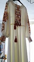 Свадебное платье в современном украинском стиле., фото 1
