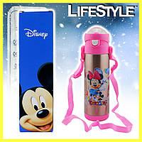 Термос для детей с поилкой Disney 0.5л, фото 1