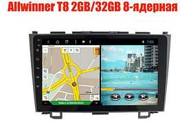 Штатная магнитола Honda CR-V 2007-2011 8 ядерная 2gb/32gb Android 8.0 Allwinner T8