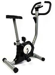 Велотренажер механический 7FIT T8018 Intenso. Цвет черный и красный.