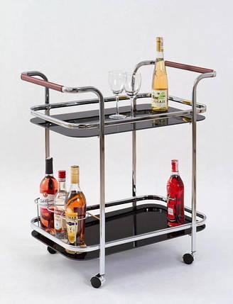 Барный стол BAR-7 (черный) (Halmar), фото 2