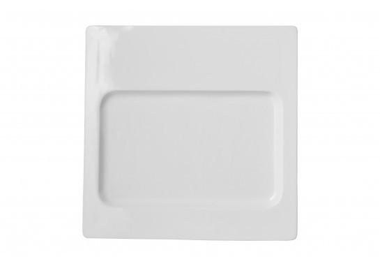 """Тарелка ALT Porcelain Delux квадратная под прямоугольный сланец 12"""" 30,5х30,5 см (F2696-12)"""
